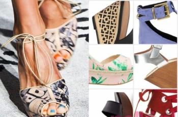 Modne sandały na lato 2015