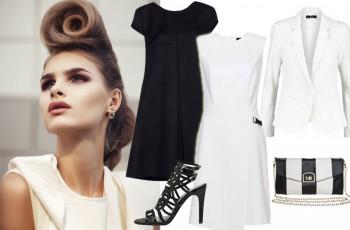 3 stylizacje black & white
