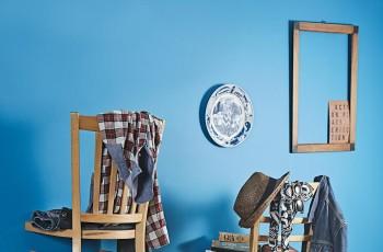 Wieszak z krzesła - DIY!
