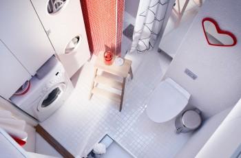 Praktyczne i stylowe łazienki IKEA