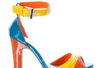 Buty w barwach fluo