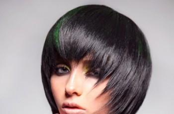 Geometryczne fryzury