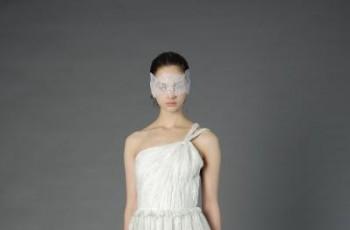 Nietypowe suknie ślubne - Douglas Hannant 2013