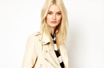 Beżowe ramoneski - moda na wiosnę 2013