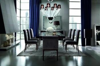 Luksusowe inspiracje do jadalni marki Patt Meblel