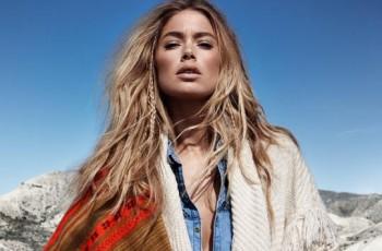 Doutzen Kroes promuje dla H&M kolekcję jesień-zima 2013/14