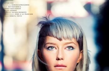 Geometryczne i nowoczesne fryzury