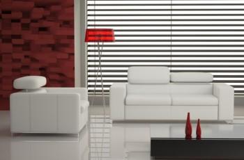 Nowoczesny salon z meblami Caya Design