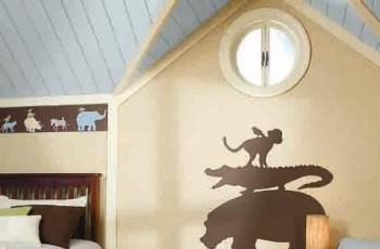 Aranżacja pokoju dziecięcego w stylu Safari