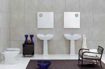 Nowoczesna łazienka wg FLAMINIA