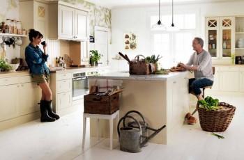 Kuchnia w stylu rustykalnym od Marbodal
