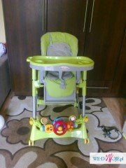 krzesełko do karmienia KIDS play