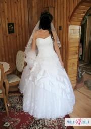 Sprzedam bajkową suknie slubną