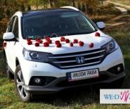 Biała Perła auto do Ślubu...  Honda CR-V
