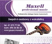 """Zespół muzyczny """"MAXELL"""""""