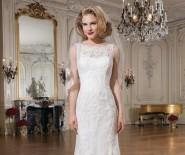 Suknia ślubna Justin Alexander 8530, rozm. 34-36, koronkowa rybka/syrenka