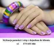 Manicure,Hybryda,pedicure (Dojazd )575 055 086 Ochota
