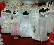 Luksusowe suknie ślubne 210szt - import US 34-56