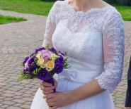 Suknia ślubna 38\40 regulowana