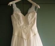 Szyfonowa suknia ślubna