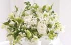 Ślubny bukiet - wykończenie stroju panny młodej