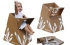 Ekologiczne krzesełko do karmienia niemowląt