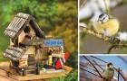 Inspiracje ogrodowe- domek dla ptaków