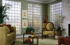 Kreatywne ścianki z luksferów