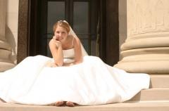 Przesądy związane z suknią ślubną