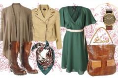 Moda dla przyszłej mamy - stylizacje