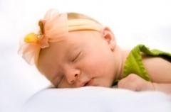 Bezsenność u niemowlęcia