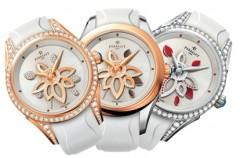Kwiaty, diamenty i ... zegarki na Dzień Kobiet