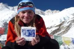 Kinga Baranowska zdobywa trzeci szczyt świata - Kanczendzongę
