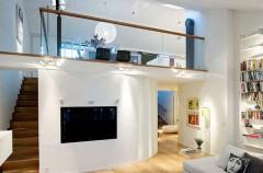 Mieszkanie dwukondygnacyjne - pomysły na aranżację