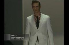 Męska kolekcja Gucci wiosna/lato 2010