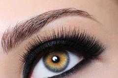 A wszystko te czarne oczy... - wyrazisty makijaż