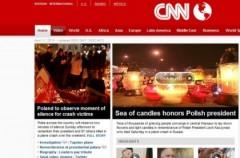 Informacja o tragedii w Smoleńsku obiegła cały świat