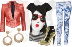 Glam rock - makijaż i stylizacja  z We-Dwoje.pl