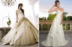 Sylwetka a modne suknie ślubne na rok 2010
