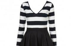 Moda w stylu Black and white
