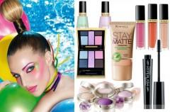 Multikolor - wakacyjny makijaż na  lato 2010