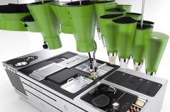 Futurystyczna kuchnia, z naciskiem na ekologię