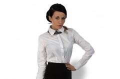 W stylu białej koszuli