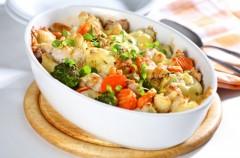 Zapiekanka kalafiorowo-brokułowa