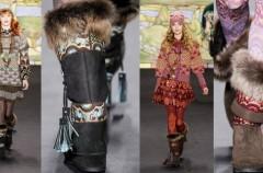 Futrzane buty -  Najważniejsze trendy 2011