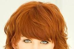 Rudości na włosach