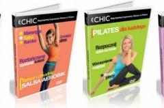 Salsa, joga, pilates i ćwiczenia odchudzające cardio już na DVD!