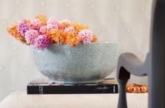Hiacynt w nucie serca - wiosenne kompozycje kwiatowe