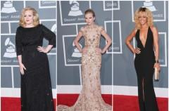 Kreacje gwiazd na Grammy 2012