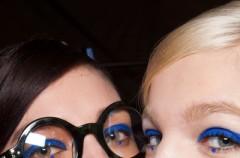 Makijaż z kropką - trendy 2013